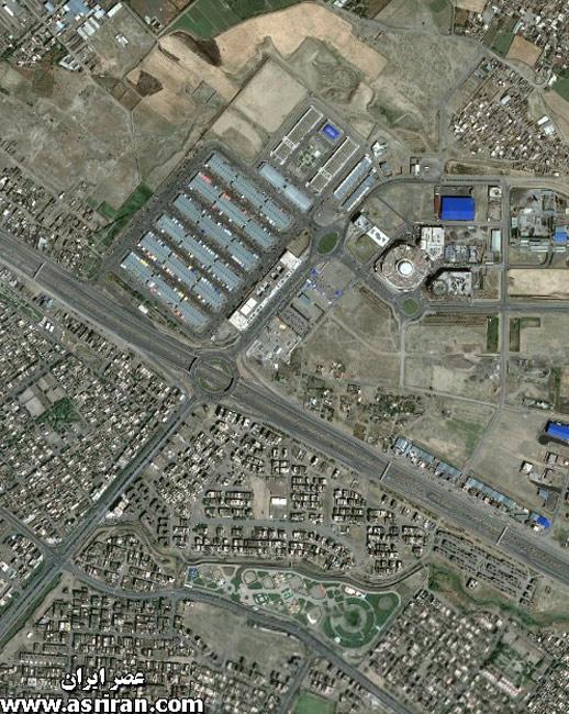 هواسناسی تصاویر ماهواره ای از مشهد - واضح