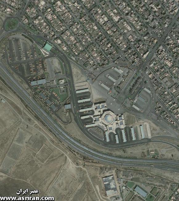 هواشناسي تصاویر ماهواره ای از مشهد - واضح