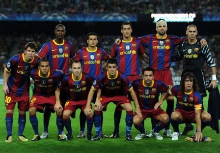 عکس+تیم+فوتبال+بارسلونا