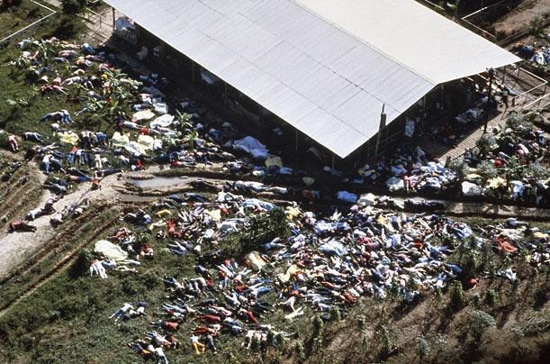 تصاویر و عکس های بزرگترین خودکشی دسته جمعی تاریخ