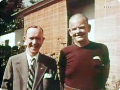 آخرین عکس دو نفره لورل و هاردی