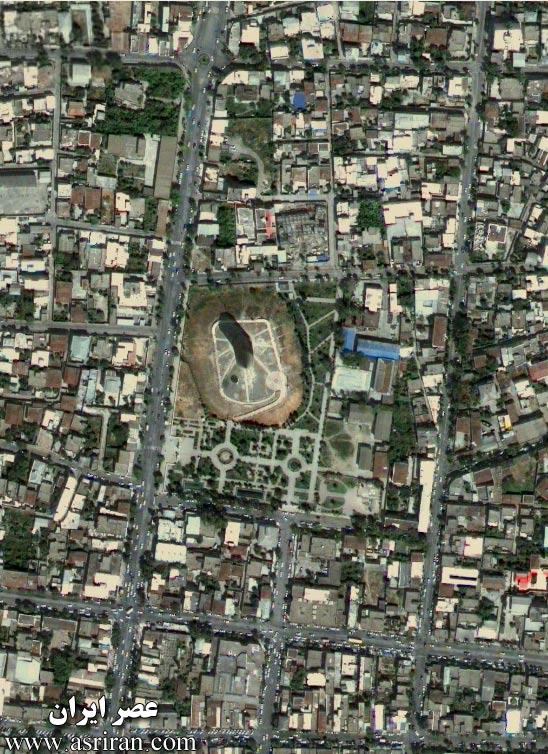 هواشناسي تصاوير ماهواره اي از گنبد کاووس - واضح