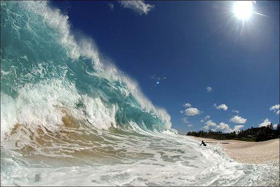 لحظاتی زیبا از امواج (عكس) www.TAFRIHI.com