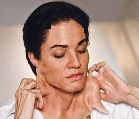 عکس چهره عجیب آنجلینا جولی در فیلم جدیدش