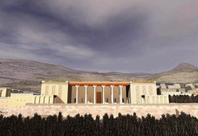 تصاوير بازسازي شده تخت جمشيد ايران