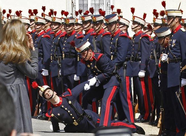 گارد احترام ارتش اسپانيا