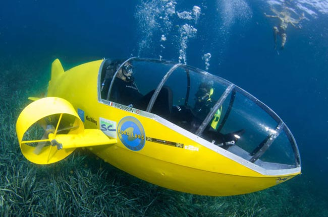 زیردریایی پدالی