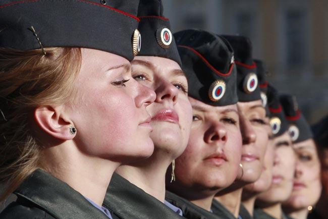 زنان پلیس در روسیه