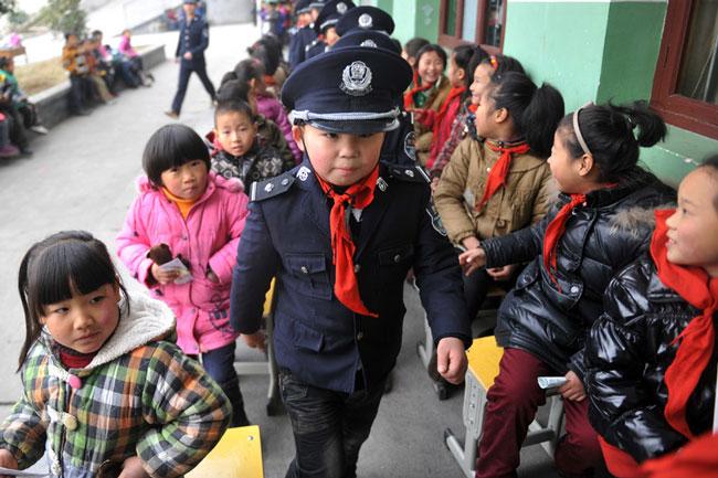 پلیس كودك چین