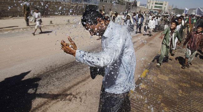 معترضان یمنی