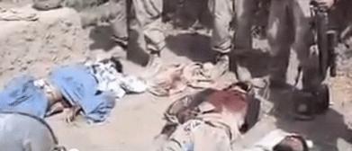 ادرار سربازان آمریکایی بر جنازه افغانی ها