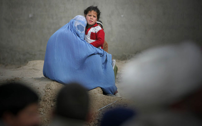 زن افغان