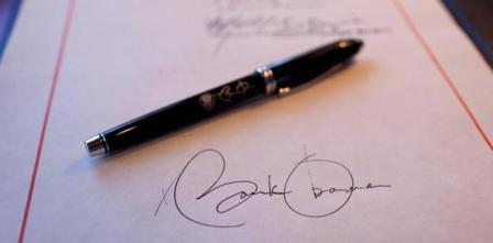 امضای اوباما
