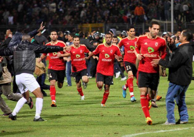 تیم های الاهلی و المصری