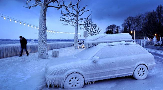 یخ بندان در اروپا