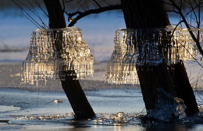 کریستال های یخی