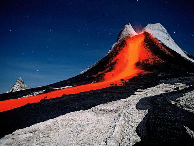 کوه آتشفشان