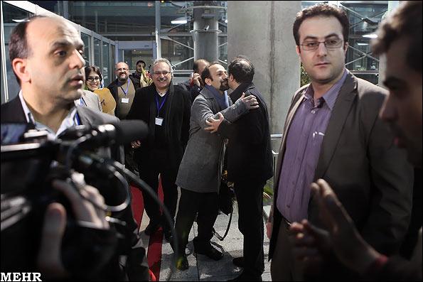بازگشت اصغر فرهادی از جشنواره فیلم اسکار