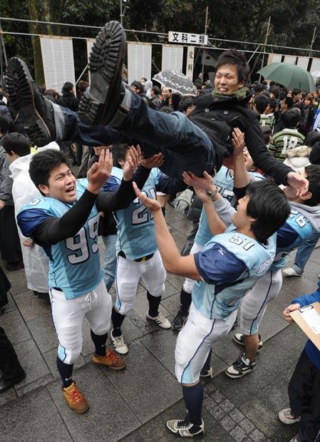 دانش آموزان ژاپنی