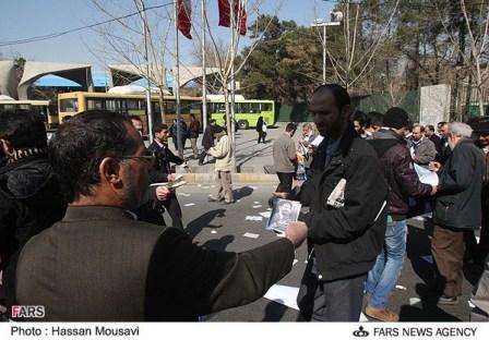 تبلیغات انتخاباتی در تهران