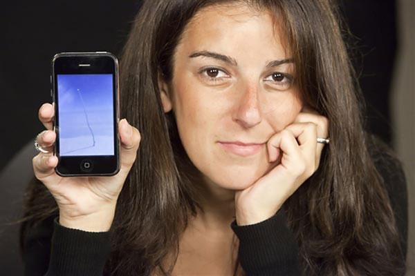 زن جوانی که با یک عکس ساده معروف شد (+عکس)