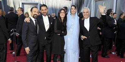 عکس   دلیل پوشیدن لباس نوعروس توسط لیلا حاتمی در اسکار