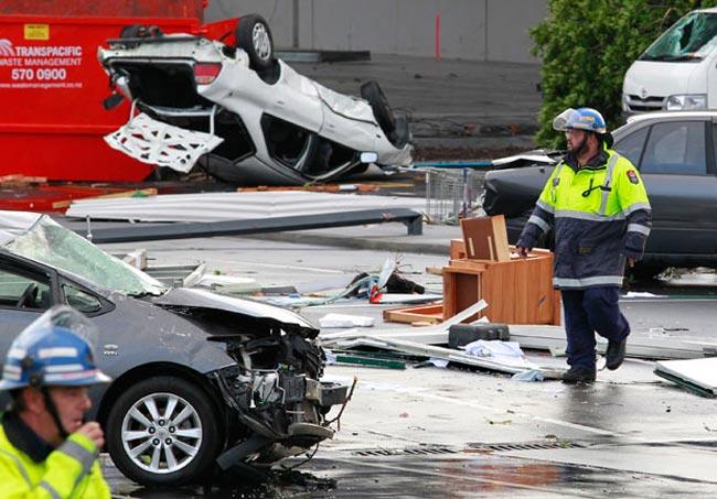 توفان شدید در نیوزیلند