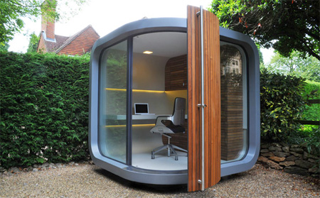 یک اتاق کار جالب و قابل حمل | www.infopanel.ir