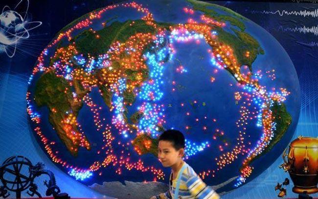 نقاط زلزله خیز کره زمین
