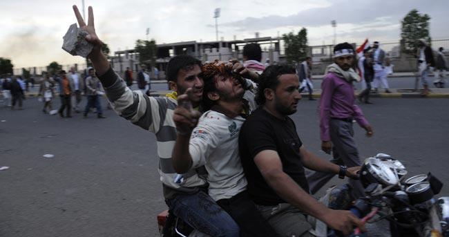 مجروحان تظاهرات در يمن
