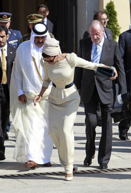 همسر امیر قطر