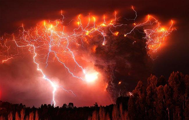 منطقه آتشفشانی شیلی