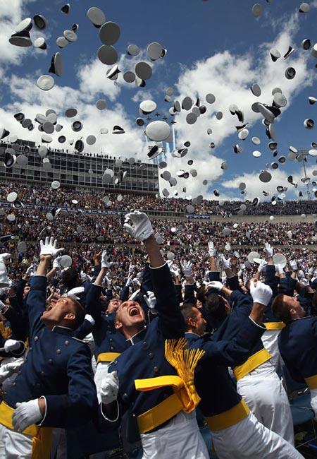 دانشجویان آکادمی نیروی هوایی آمریکا