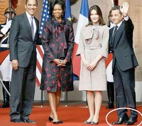سارکوزی ، اوباما و همسرانشان