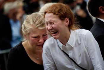 نروژی ها در عزای حمله تروریستی