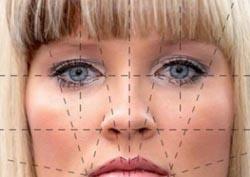 شبیه سازی صورت انسان