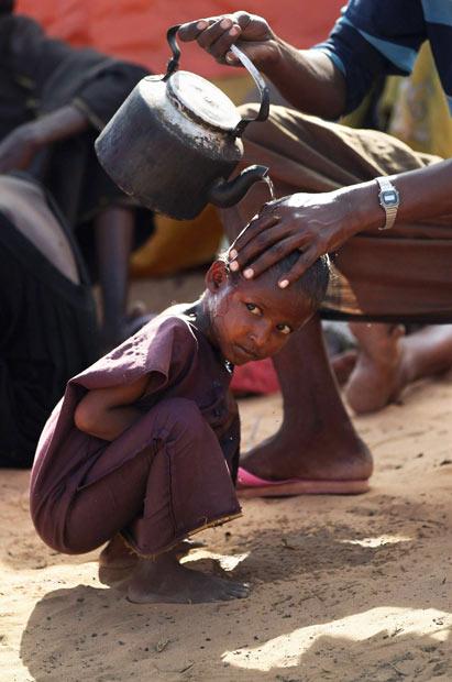 كمپ آوارگان سومالی
