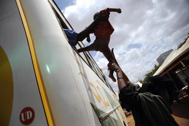 کمپ آوارگان سومالی