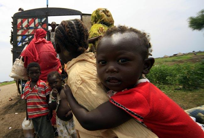 آوارگان سودانی
