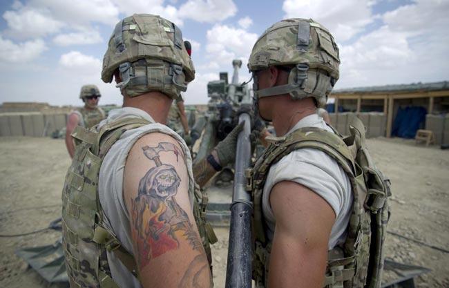 سربازان آمريكايي