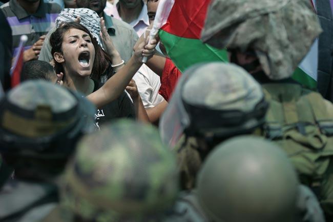 روزه داران فلسطینی