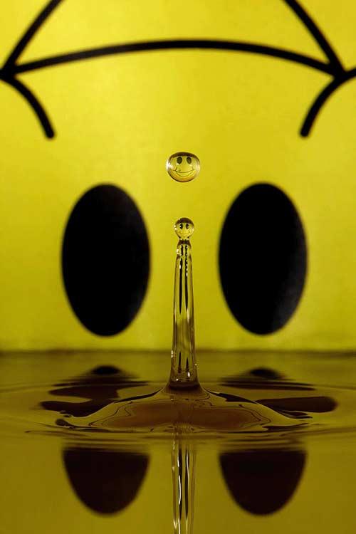 شیرین کاری جالب با قطرات آب! (عکس) www.TAFRIHI.com