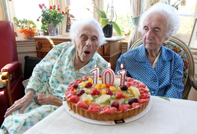 مسن ترین دوقلوهای دنیا