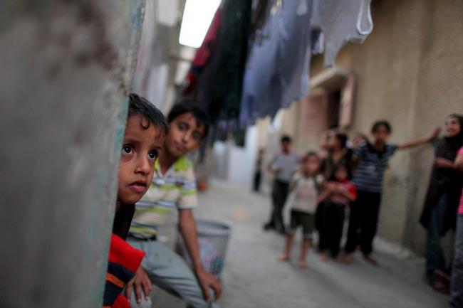 كمپ آوارگان فلسطینی
