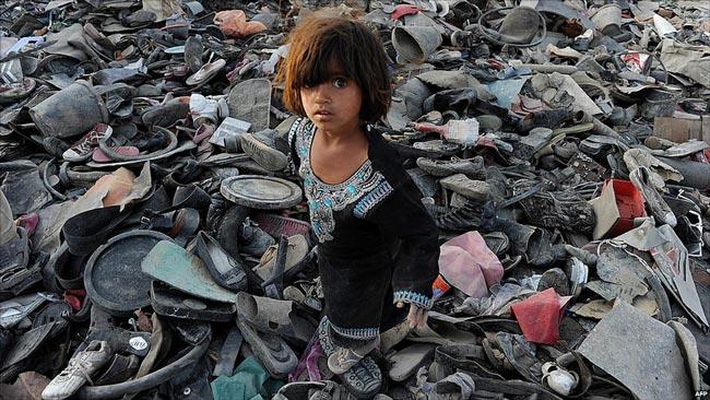دختر بچه افغان