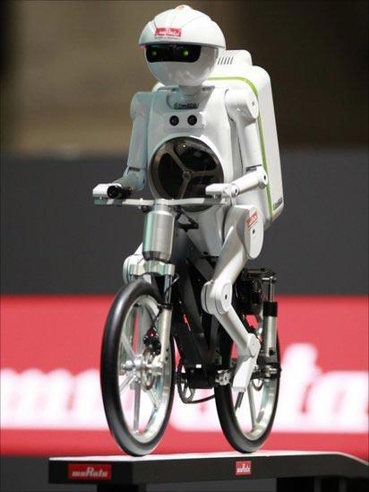 روبات دوچرخه سوار