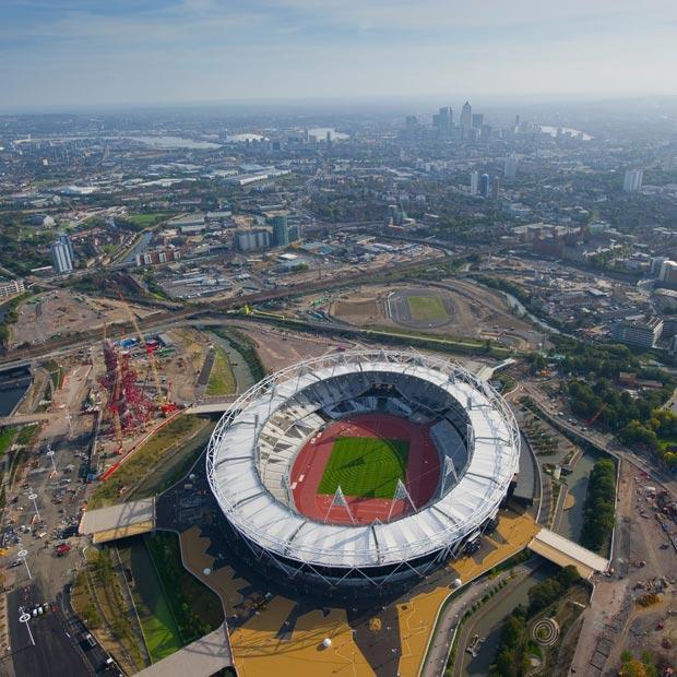 استادیوم المپیک 2012 لندن