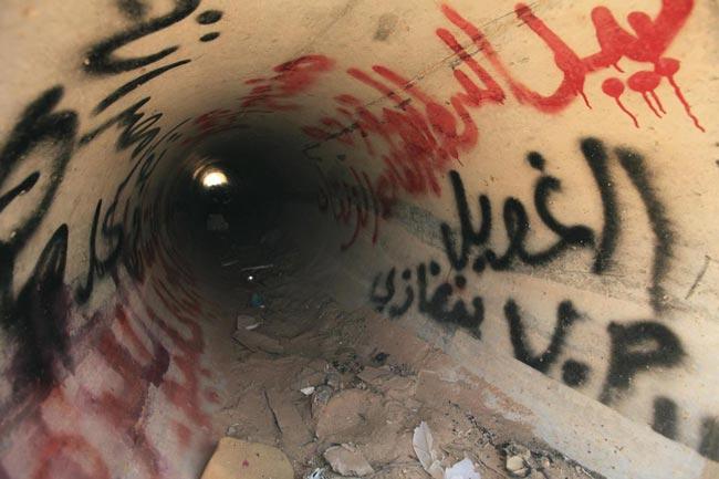 محل اختفای دیکتاتور لیبی