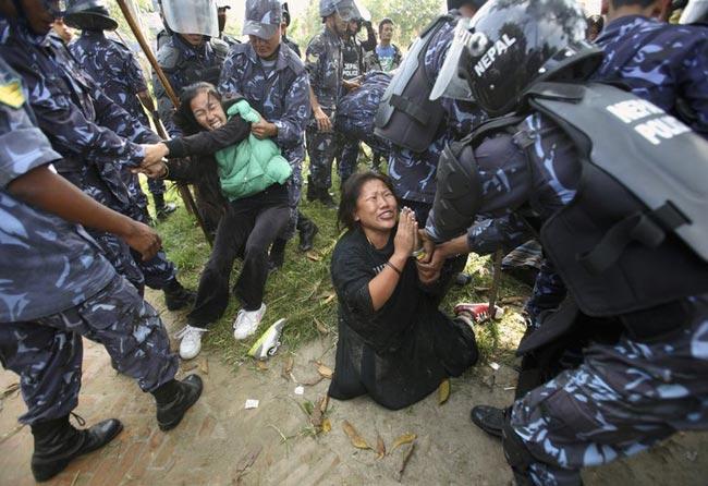 معترضان تبتی