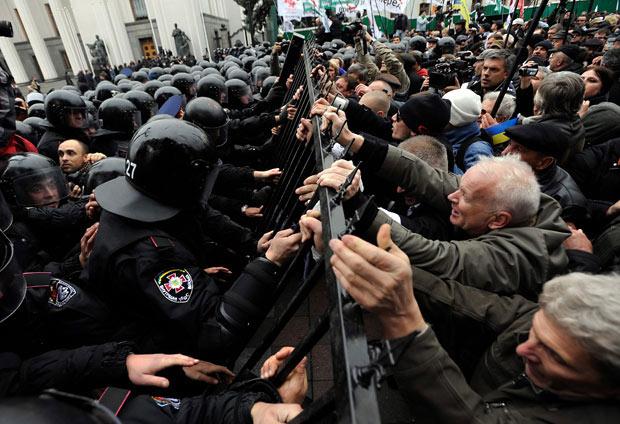 تظاهرات صدها اوکراینی